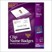Avery Name Badge Kit