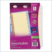 Avery WorkSaver Standard Insertable Tabs Divider