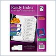 ADD TO YOUR SET: Avery Classic Ready Index Table of Contents Divider