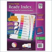 Avery Table of Contents Index Divider