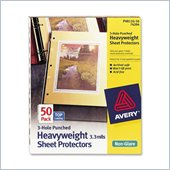 Avery 3-Hole Punched Heavyweight Sheet Protector