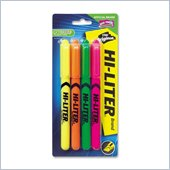 Avery Hi-Liter Fluorescent Pen Style Highlighters