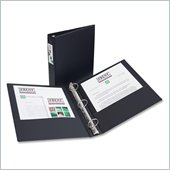 Avery Economy Reference Ring Binders with Label Holder