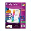 ADD TO YOUR SET: Avery Ready Index Table of Contents Reference Divider