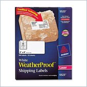 Avery Weather Proof Mailing Label