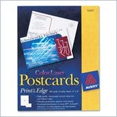 Avery Color Laser Print-to-the-Edge Postcards