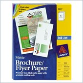 Avery Ink Jet Tri-Fold Brochure