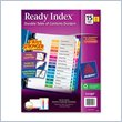 ADD TO YOUR SET: Avery Ready Index Table of Contents Reference Dividers