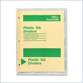 Avery Office Essentials Economy Insertable Tab Dividers