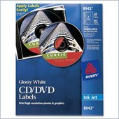 Avery Glossy CD Label