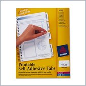 Avery Printable Self-Adhesive Tab