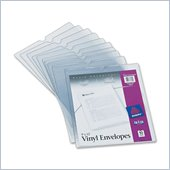 Avery Top Thumb Notch Vinyl Envelopes