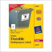 Avery 6575 Permanent Durable I.D. Label