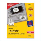 Avery 6576 Permanent Durable I.D. Label