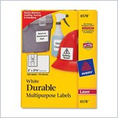 Avery 6578 Permanent Durable I.D. Label