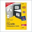 ADD TO YOUR SET: Avery 6579 Permanent Durable I.D. Label