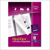 Avery Flexi-View 6-Pocket Organizer