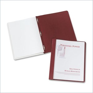 Avery Coated Paper Clear Front Report Cover