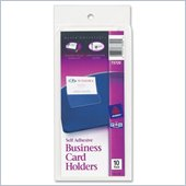 Avery Self-Adhesive Business Card Holder