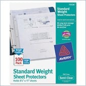 Avery Non-Stick Sheet Protector
