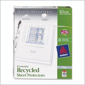 Avery Recycled Economy Weight Sheet Protector