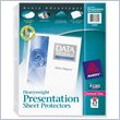 ADD TO YOUR SET: Avery Diamond Clear Top Loading Sheet Protector