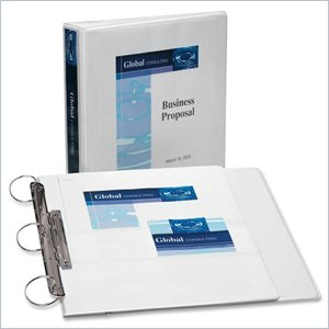 Avery Flip Back Reference View Binder