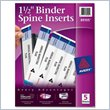 ADD TO YOUR SET: Avery Binder Spine Insert