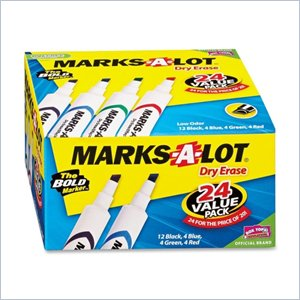 Avery Marks-A-Lot Dry Erase Marker
