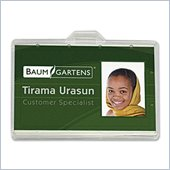 Baumgartens 68110 Horizontal ID Card Holder
