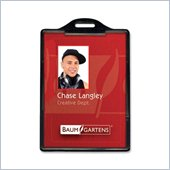 Baumgartens 68320 Vertical ID Card Holder