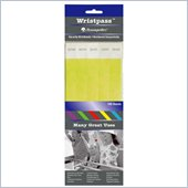 Baumgartens Wristpass Dupont Tyvek Security Wrist Band