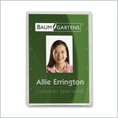 Baumgartens 68120 Vertical ID Card Holder