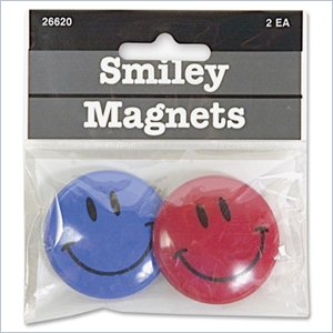 Baumgartens Smiley Face Magnet