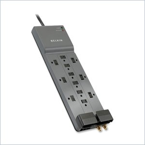 Belkin SurgeMaster Professional 12-Outlets Surge Protector