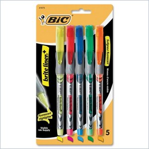 BIC Z4 Brite Liner Liquid Highlighter