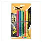 BIC Brite Liner Grip Highlighters