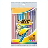 BIC Shimmers Stick Ballpoint Pen