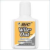 BIC Wite-Out Correction Fluid