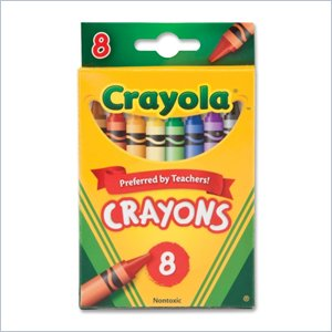 Crayola 52-3008 Crayon Set