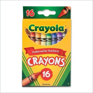 Crayola 52-3016 Crayon Set