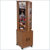 Buddy Rotary Rack with Storage Compartments