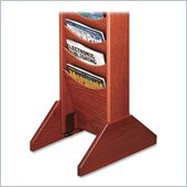 Buddy Literature Wall Racks Single Wood Base