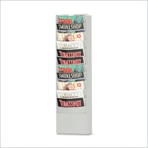 Buddy Eclipse Curved Literature Rack
