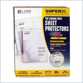 C-line Vinyl Top Loading Sheet Protector
