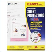 C-line Polypropylene Top Loading Sheet Protector