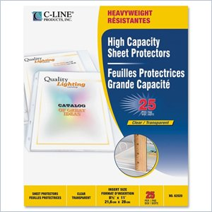 C-line Top Loading High Capacity Sheet Protector