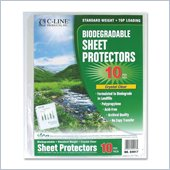 C-line Biodegradable Sheet Protector