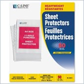 C-line Top Loading 11-Hole Punched Sheet Protector