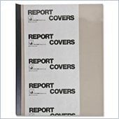 C-line Vinyl Report Cover with Binding Bars